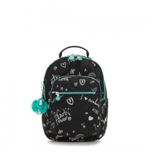 Black Friday 2020 - Kipling SEOUL GO S Small Backpack Girl Doodle