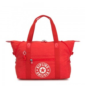 Black Friday 2020 - Kipling ART M Medium Tote Bag with 2 Front Pockets Active Red NC