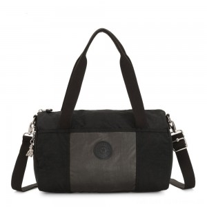 Kipling VITORIA Convertible accessory METAL BLACK BLOCK