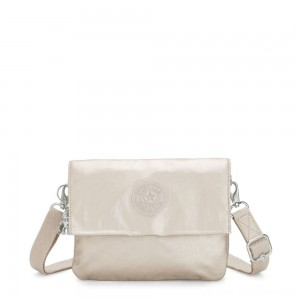 Black Friday 2020 - Kipling OSYKA 2 in 1 Crossbody and Pouch with Card Slots Cloud Metal Gifting