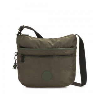 Black Friday 2020 - Kipling ARTO Cross Body Shoulder Bag Satin Camo