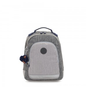 Black Friday 2020 - Kipling CLASS ROOM S Small backpack with laptop protection Ash Denim Bl