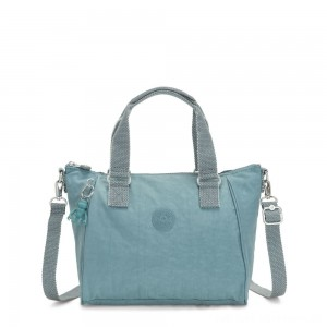 Black Friday 2020 - Kipling AMIEL Medium Handbag Aqua Frost