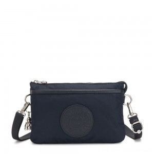 Kipling RIRI Small Cross-Body Bag True Blue Twill