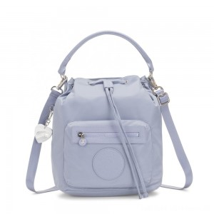 Kipling VIOLET Medium Backpack convertible to shoulderbag Belgian Blue
