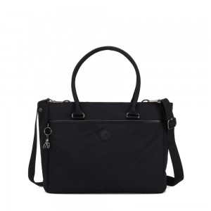 Kipling ARTEGO Working Bag with laptop protection Rich Black