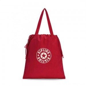 Black Friday 2020 - Kipling NEW HIPHURRAY Lightweight Tote Bag Lively Red
