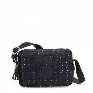 Black Friday 2020 - Kipling ABANU Mini Crossbody Bag with Adjustable Shoulder Strap Tile Print