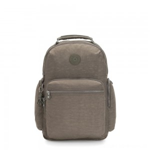 Black Friday 2020 - Kipling OSHO Large backpack with organsiational pockets Seagrass