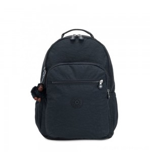 Black Friday 2020 - Kipling SEOUL GO Large Backpack with Laptop Protection True Navy