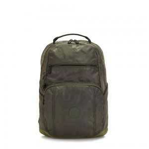 Black Friday 2020 - Kipling TROY Large Backpack with padded laptop compartment Satin Camo