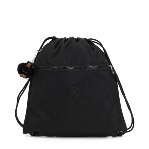Black Friday 2020 - Kipling SUPERTABOO Medium Drawstring Bag True Black