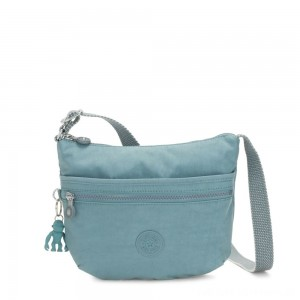 Kipling ARTO S Small Cross-Body Bag Aqua Frost