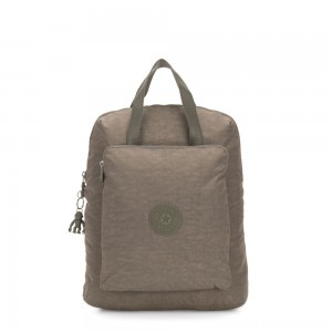 Kipling KAZUKI Large 2-in-1 Shoulderbag and Backpack Seagrass