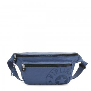 Black Friday 2020 - Kipling YASEMINA XL Large Bumbag Convertible to Crossbody Bag Soulfull Blue