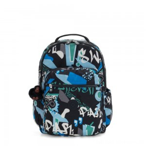 Black Friday 2020 - Kipling SEOUL Large Backpack with Laptop Protection Epic Boys