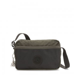 Black Friday 2020 - Kipling URSINA Small Crossbody with Shoulder strap Cold Black Olive