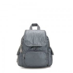 Kipling CITY PACK MINI City Pack Mini Backpack Steel Grey Metallic