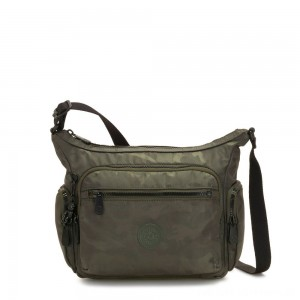 Black Friday 2020 - Kipling GABBIE S Crossbody Bag with Phone Compartment Satin Camo