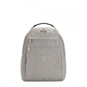 Black Friday 2020 - Kipling MICAH Medium Backpack Chalk Grey