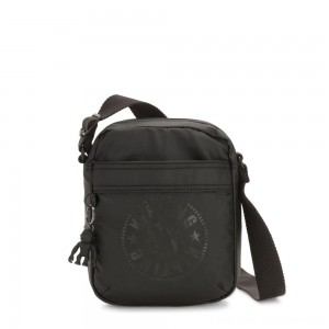 Kipling HISA Small Crossbody bag with front magneic pocket Raw Black