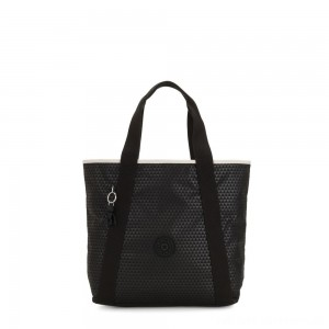 Black Friday 2020 - Kipling ZANE Medium tote bag with shoulderstrap Black Club C