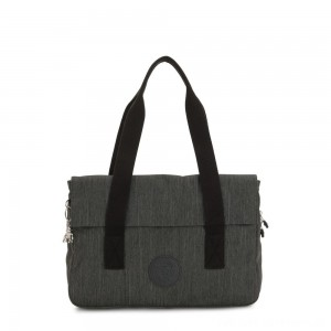 Kipling PERLANI S Medium Laptop Bag with Trolly Sleeve Black Indigo Work