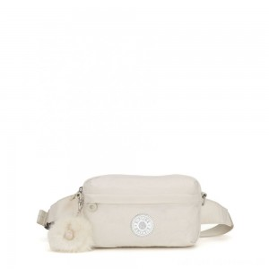 Kipling HALIMA Small 2-in-1 Waistbag and Crossbody Dazz White