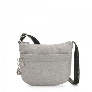 Black Friday 2020 - Kipling ARTO S Cross Body Shoulder Bag Chalk Grey