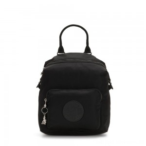 Black Friday 2020 - Kipling NALEB Small Backpack with tablet sleeve Galaxy Black