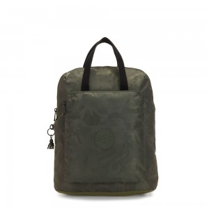 Black Friday 2020 - Kipling KAZUKI Large 2-in-1 Shoulderbag and Backpack Satin Camo