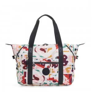 Black Friday 2020 - Kipling ART M Travel Tote With Trolley Sleeve Music Print