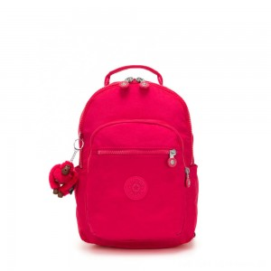 Black Friday 2020 - Kipling SEOUL GO S Small Backpack True Pink