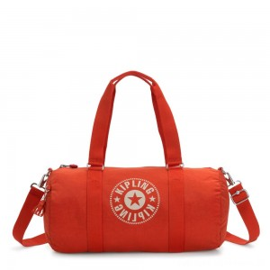 Black Friday 2020 - Kipling ONALO Multifunctional Duffle Bag Funky Orange Nc