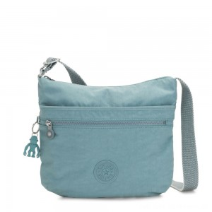 Kipling ARTO Shoulder Bag Across Body Aqua Frost
