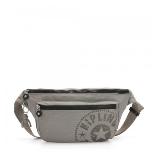 Kipling YASEMINA XL Large Bumbag Convertible to Crossbody Bag Rapid Grey