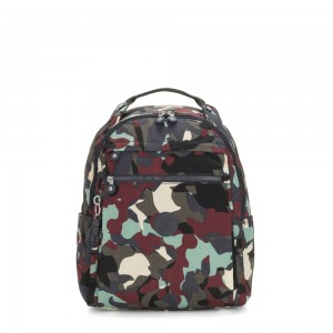 Kipling MICAH Medium Backpack Camo Large