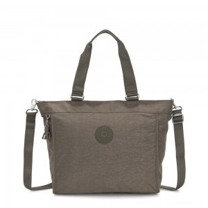 Black Friday 2020 - Kipling NEW SHOPPER L Large Shoulder Bag With Removable Shoulder Strap Seagrass