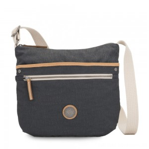 Kipling ARTO Shoulder Bag Across Body Casual Grey