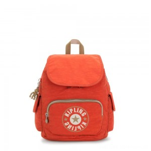Black Friday 2020 - Kipling CITY PACK S Small Backpack Funky Orange Block