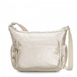 Black Friday 2020 - Kipling GABBIE Medium Shoulder Bag Cloud Metal