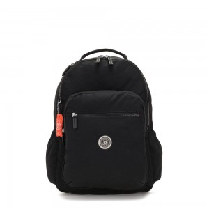 Kipling SEOUL GO Large backpack with laptop protection Brave Black