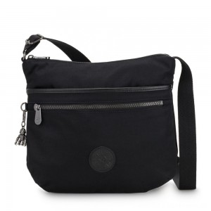 Black Friday 2020 - Kipling ARTO Cross Body Shoulder Bag Rich Black