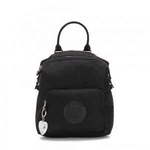 Black Friday 2020 - Kipling NALEB Small Backpack with tablet sleeve Meteorite