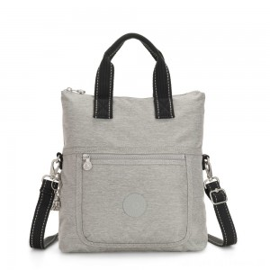 Black Friday 2020 - Kipling ELEVA Shoulderbag with Removable and Adjustable Strap Chalk Grey