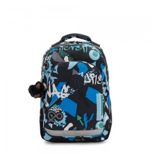 Black Friday 2020 - Kipling CLASS ROOM Large backpack with laptop protection Epic Boys