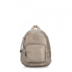 Black Friday 2020 - Kipling GLAYLA Extra small 3-in-1 Backpack/Crossbody/Handbag Metallic Pewter Gifting