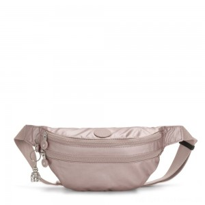 Black Friday 2020 - Kipling SARA Medium Bumbag Convertible to Crossbody Bag Metallic Rose