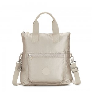 Black Friday 2020 - Kipling ELEVA Shoulderbag with Removable and Adjustable Strap Cloud Metal