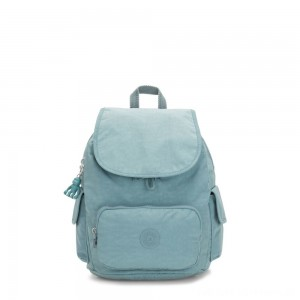 Kipling CITY PACK S Small Backpack Aqua Frost